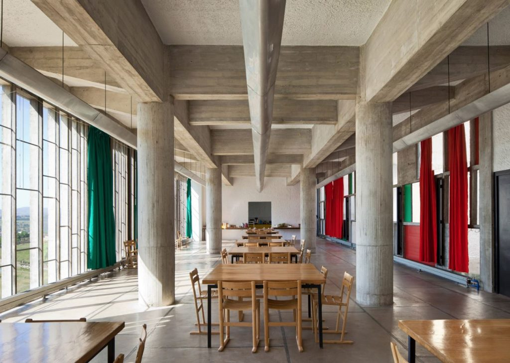 la tourette interior