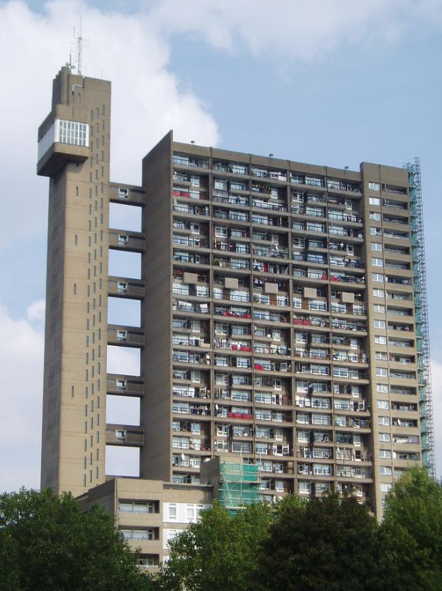 trellick tower brutalist architecture